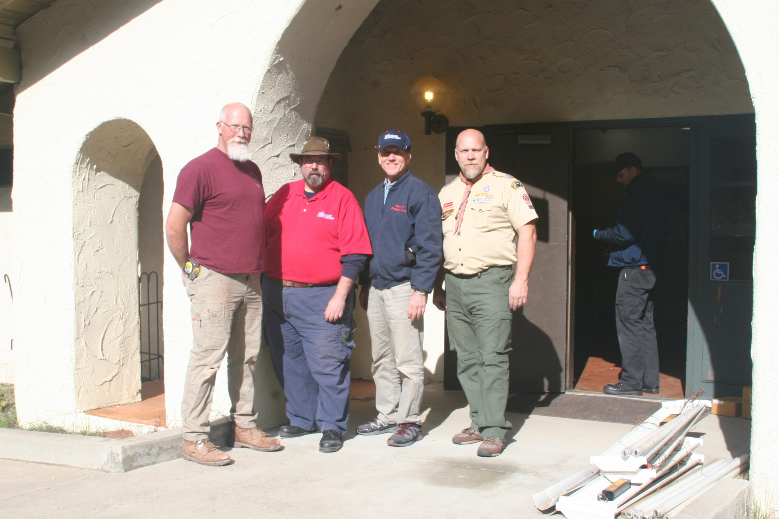 The Team Accurate Security Pros and Mataguay Scout Ranch